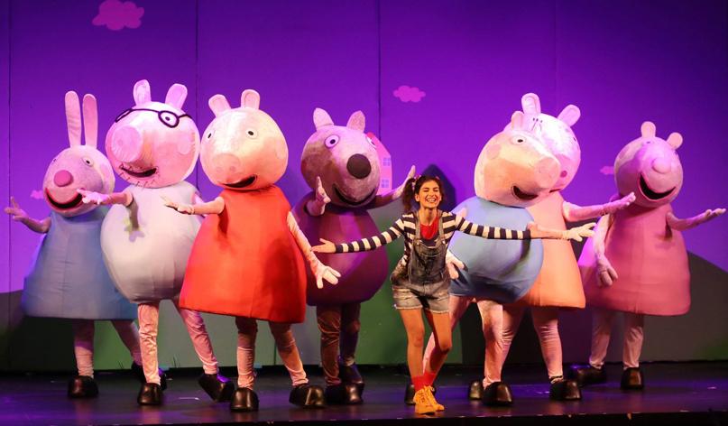«Η Πέππα το γουρουνάκι» στις 6 Σεπτεμβρίου στο Κηποθέατρο