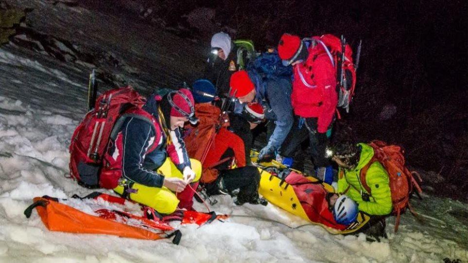 Η ιστορία διάσωσης ενός Γάλλου ορειβάτη που εγκλωβίστηκε στον Όλυμπο