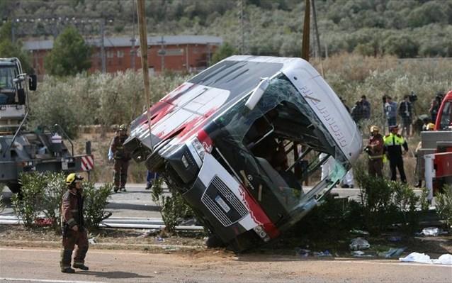 Τροχαίο δυστύχημα με 15 νεκρούς στη Βουλγαρία