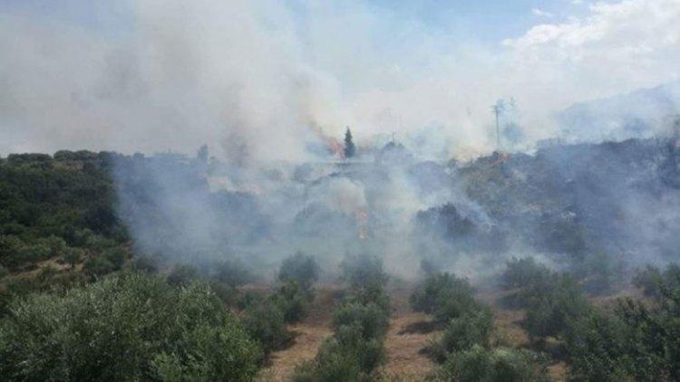 Περιορίστηκε η φωτιά στα Χανιά – Προβληματισμός από τον δήμαρχο Αποκορώνου (φωτ. + βίντεο)