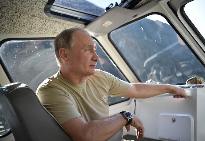 Οι τελευταίες μέρες των θερινών διακοπών του προέδρου Πούτιν