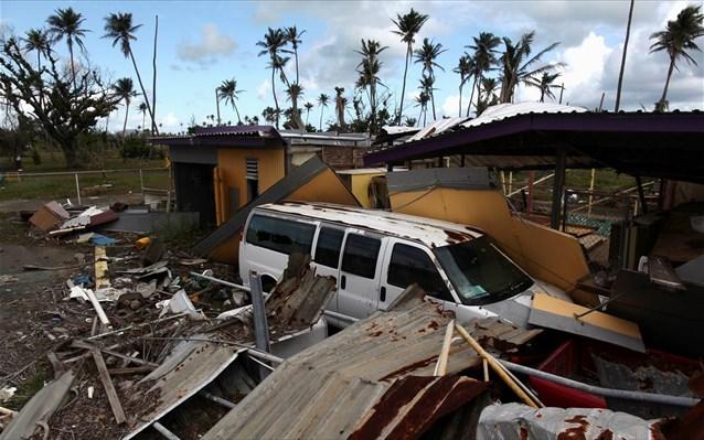 Πουέρτο Ρίκo: Τουλάχιστον 2.975 οι νεκροί από τον κυκλώνα «Μαρία» το 2017