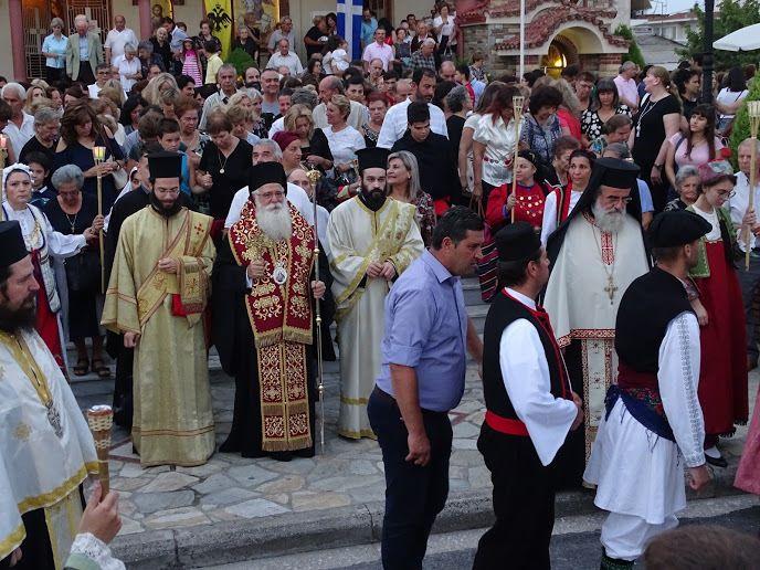 Λάρισα: Στην εορτή του Αγίου Φανουρίου ο τοποτηρητής Μητροπολίτης Ιγνάτιος (φωτ.)
