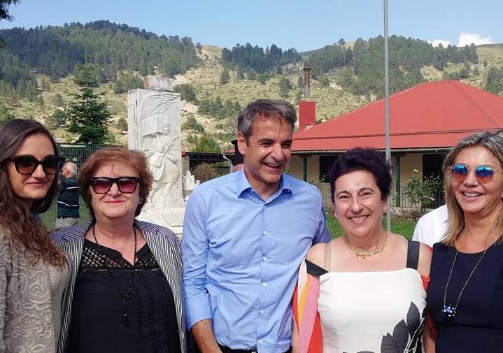 Ο Κυριάκος και οι γυναίκες του…