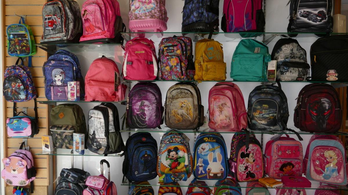 Λάρισα: Έφτασε η ώρα για τα σχολικά