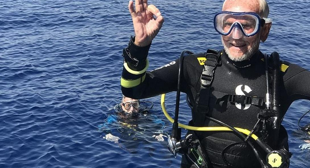 95χρονος Βρετανός έσπασε το δικό του ρεκόρ