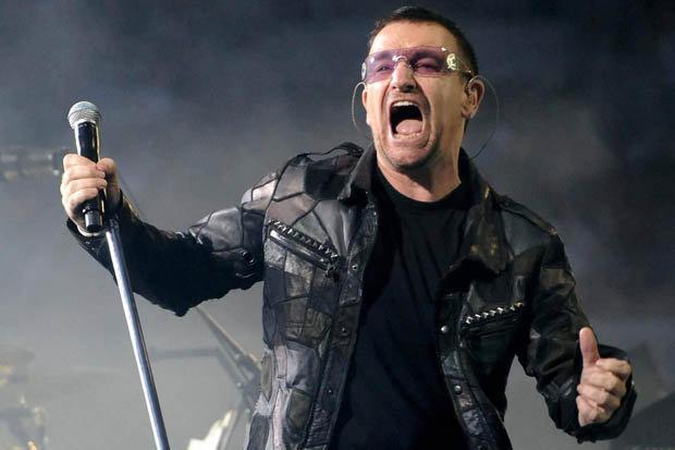 Ο Μπόνο των U2 έχασε τη φωνή του κατά τη διάρκεια συναυλίας