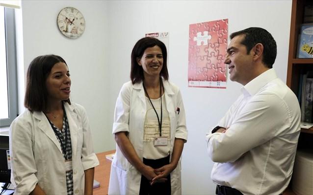 Τσίπρας: Θα ενισχύσουμε περαιτέρω τη Δημόσια Υγεία