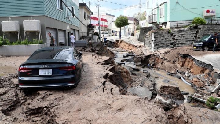 Ιαπωνία: Τουλάχιστον ένας νεκρός και 32 αγνοούμενοι μετά από σεισμό 6,7 Ρίχτερ