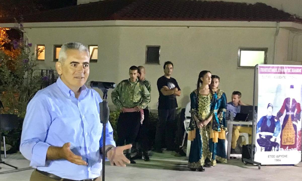 Στη Χάλκη για το διεθνές φεστιβάλ ο Μάξιμος Χαρακόπουλος