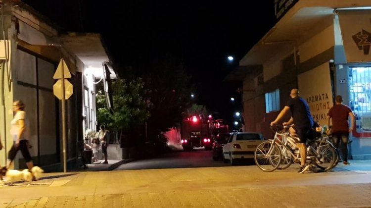 Tρίκαλα: Ζημιές από φωτιά σε σπίτι στην Πράσινη Γωνιά