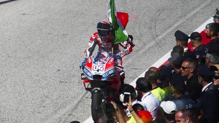Ο Ντοβιτσιόζο νικητής στο Σαν Μαρίνο