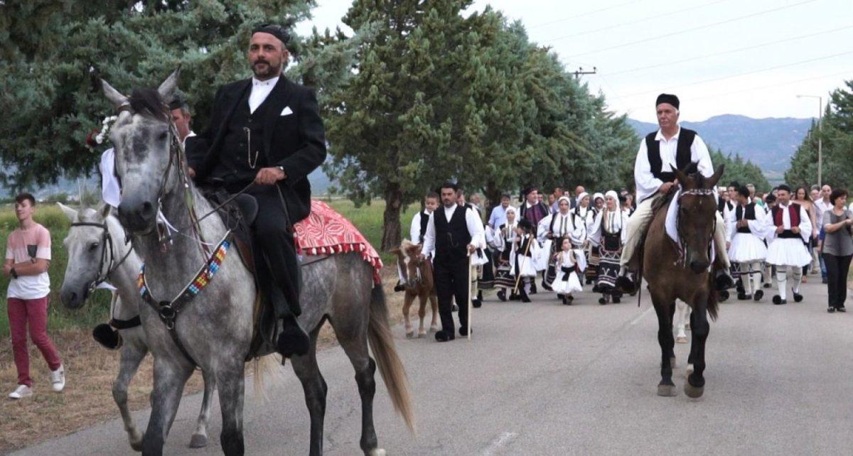 Λαμία: Σαρακατσάνικος παραδοσιακός γάμος (φωτ.)
