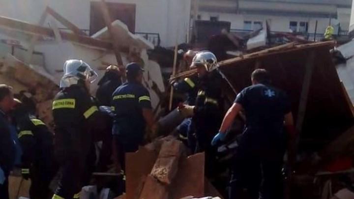 Φιάλη υγραερίου προκάλεσε την κατάρρευση του σπιτιού στα Ιωάννινα