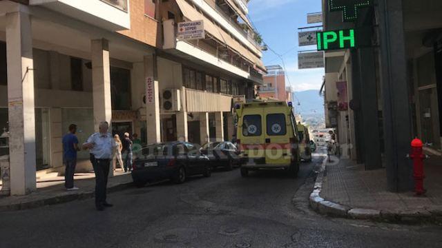 Λαμία: Βουτιά θανάτου στο κέντρο της πόλης
