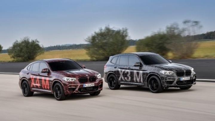 Παρουσιάστηκαν οι BMW X3 M και BMW X4 M