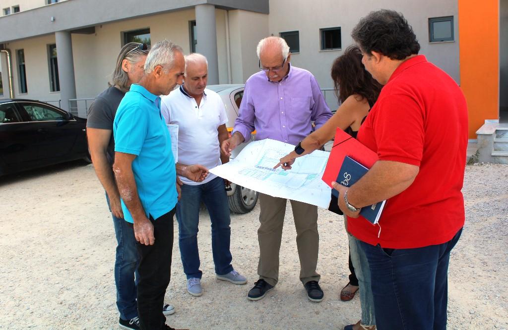 Σύντομα τα έργα στον περιβάλλοντα χώρο του νέου Κολυμβητηρίου