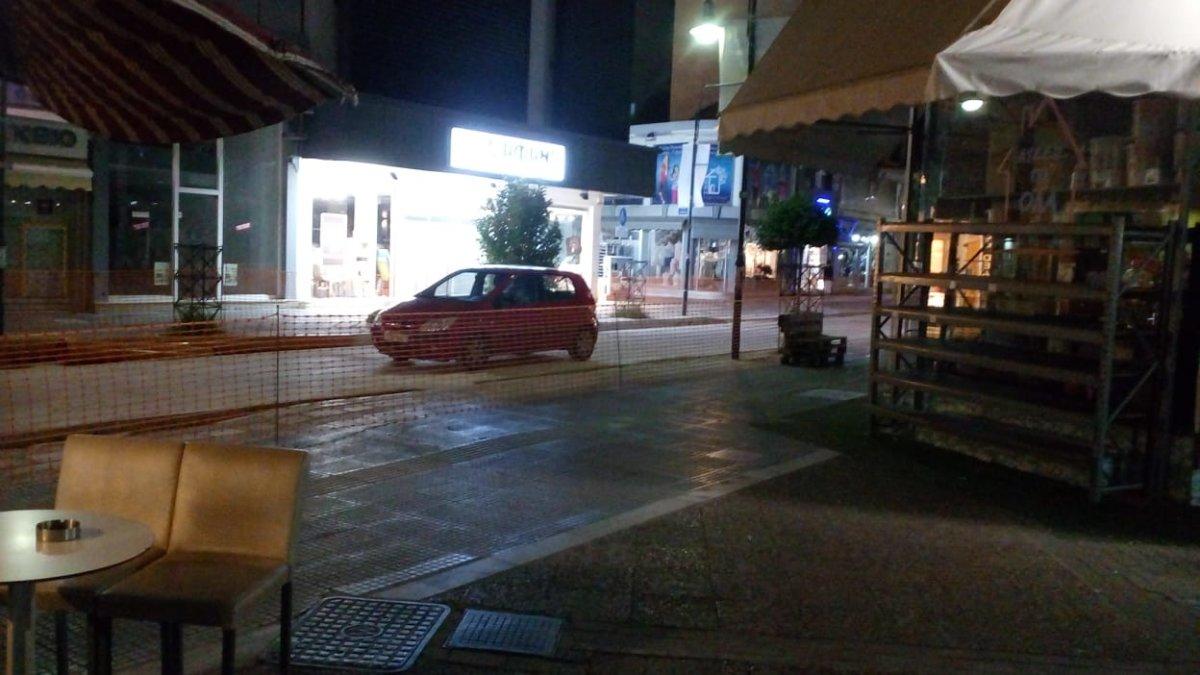 Στην κλειστή Βενιζέλου… βρίσκεις πάρκινγκ