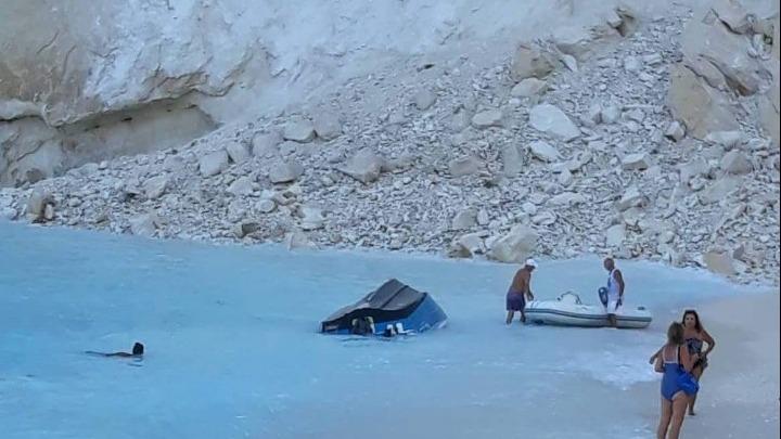 Ζάκυνθος: Τραυματίες από την πτώση βράχων – Ερευνούν πληροφορία για 3 αγνοούμενους