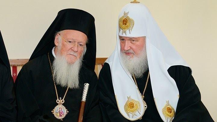 Η εκκλησία της Ρωσίας σταματά να μνημονεύει τον Πατριάρχη Βαρθολομαίο