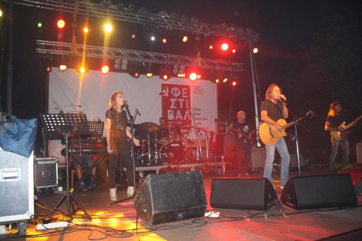 Λάρισα: Κλικς από τη συναυλία του Β. Παπακωνσταντίνου