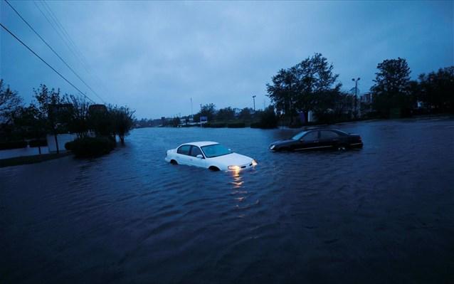 ΗΠΑ: Τουλάχιστον πέντε οι νεκροί από τον τυφώνα Φλόρενς