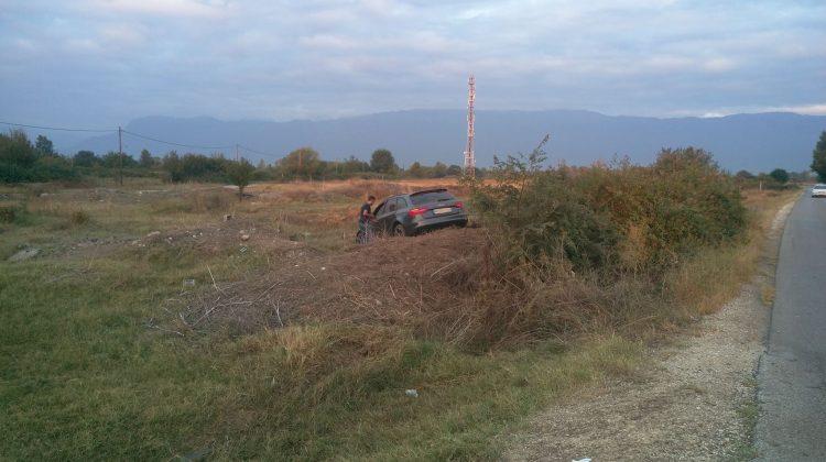 Αυτοκίνητο βρέθηκε στα χωράφια έξω από τα Τρίκαλα