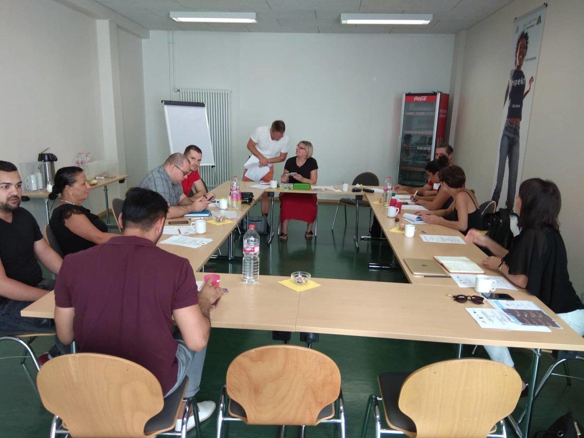 Συμμετοχή στην τελική συνάντηση εταίρων του προγράμματος  ERASMUS+ «A new ENTRance»