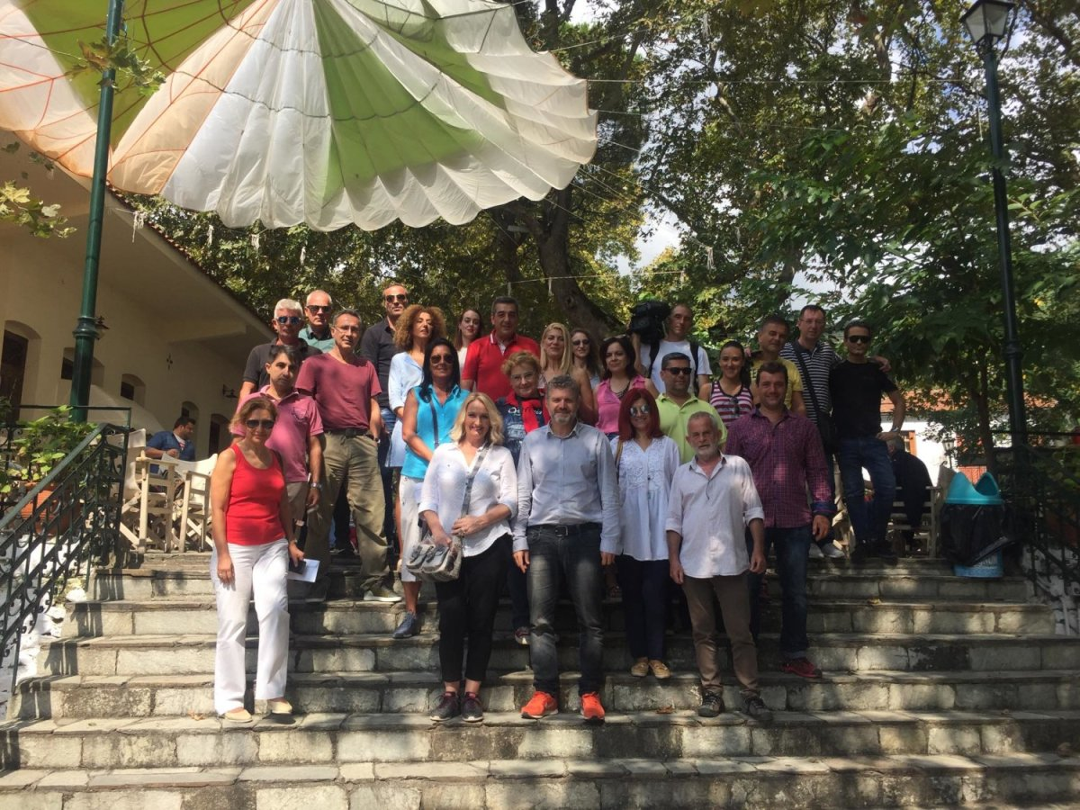 Αποστολή Σέρβων στη Λάρισα
