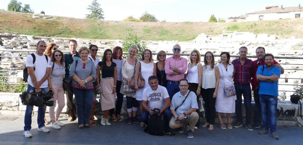 Στο Αρχαίο Θέατρο η αποστολή των Σέρβων