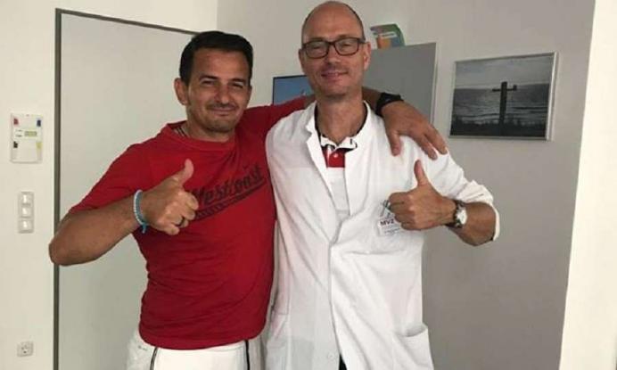 Ο Νίκος Κυζερίδης νίκησε τον καρκίνο!