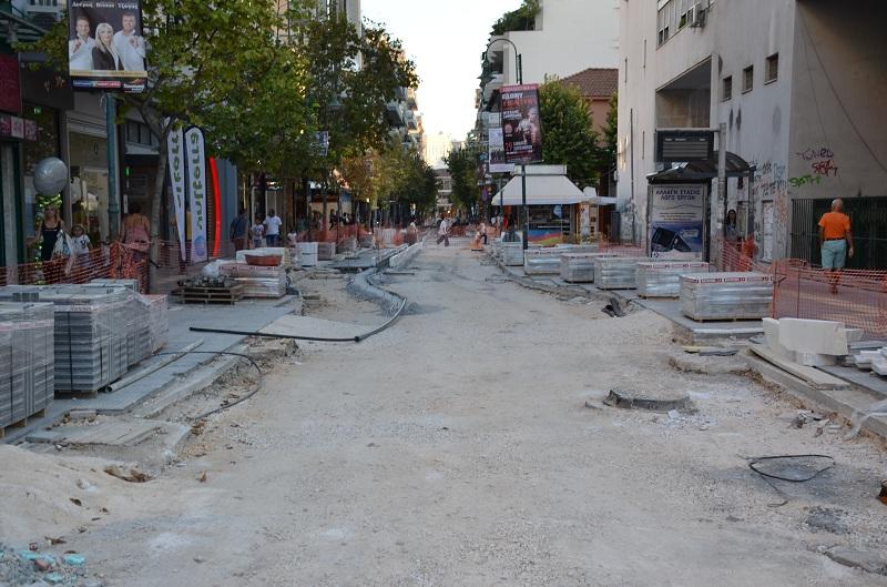 Kλειστή την Κυριακή η διάβαση πεζών στη Μεγ. Αλεξάνδρου και Κύπρου
