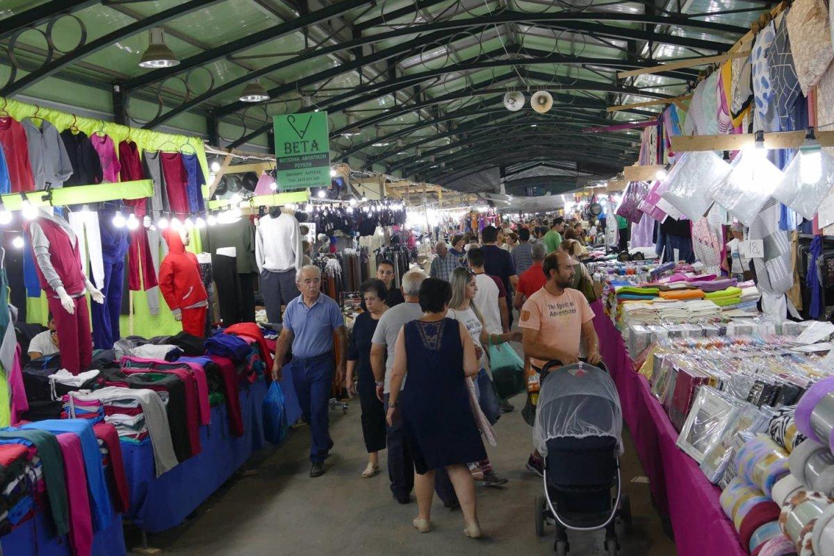 Για παράταση του παζαριού διαμαρτύρεται ο Εμπορικός Σύλλογος Λάρισας