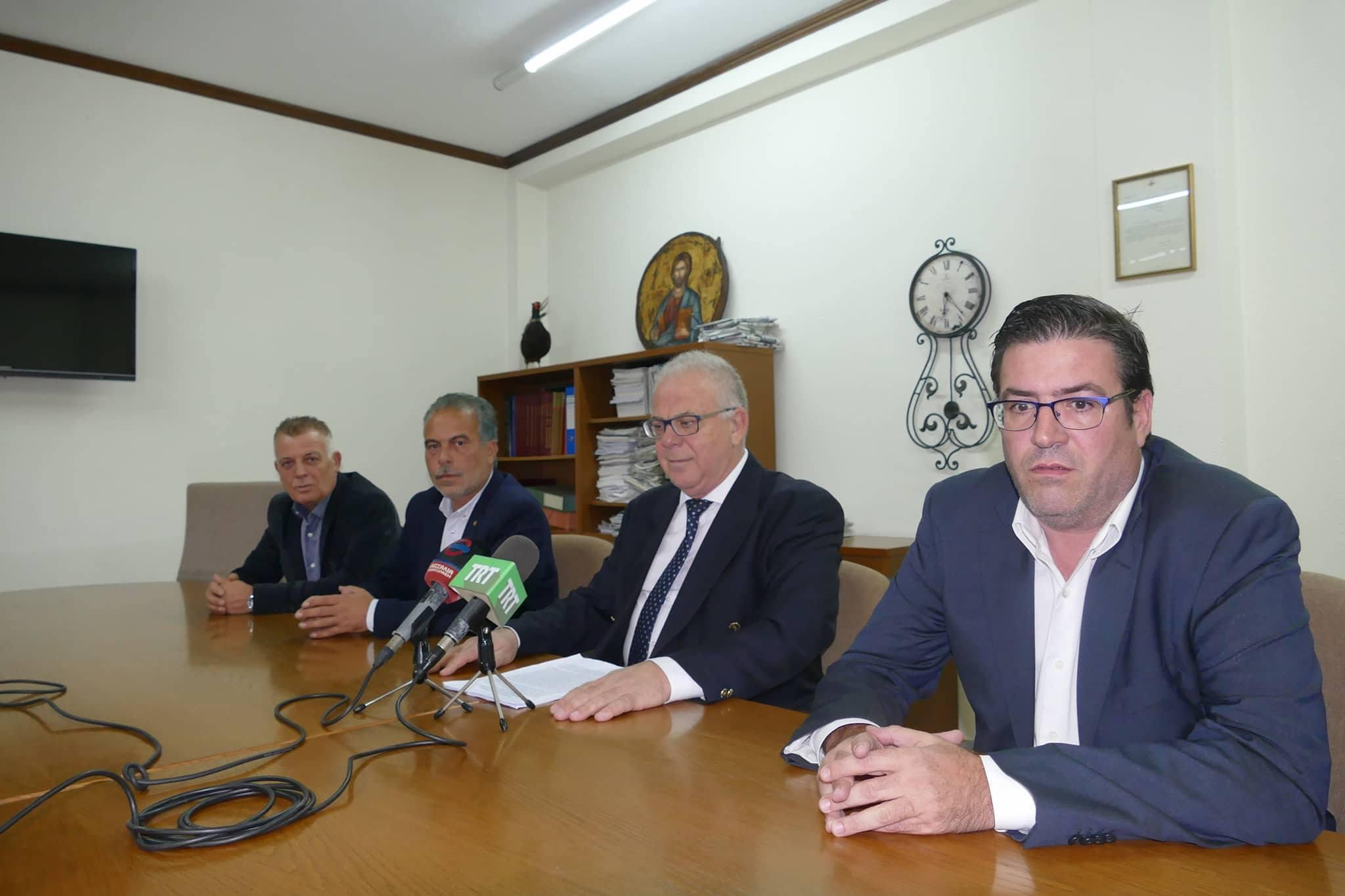 Από τη σημερινή συνέντευξη Τύπου για τις αποφάσεις της Συγκλήτου του ΤΕΙ Θεσσαλίας