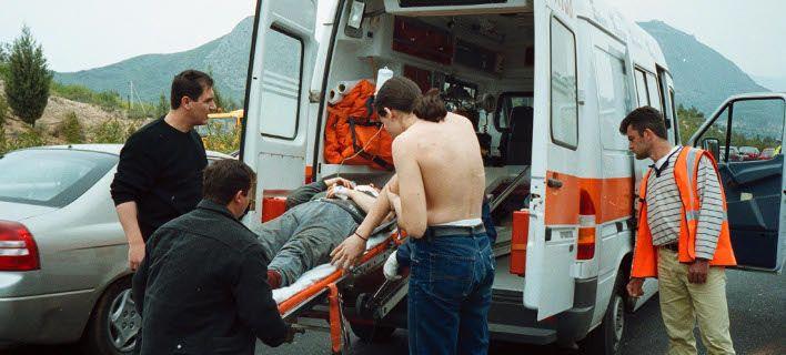 Λέσβος: Λεωφορείο έπεσε σε βάλτο