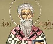 Ο Άγιος Διονύσιος ο Αρεοπαγίτης, πολιούχος Αθηνών (3 Οκτωβρίου)