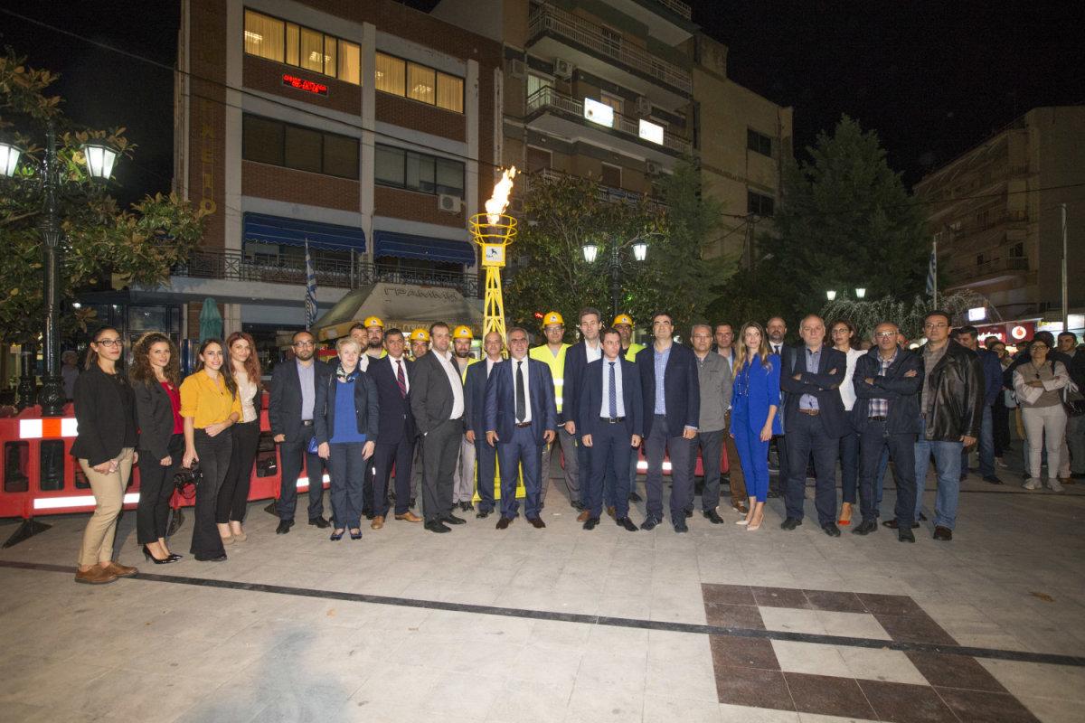 Στο Λαγκαδά το πρώτο δίκτυο φυσικού αερίου με CNG στην Ελλάδα