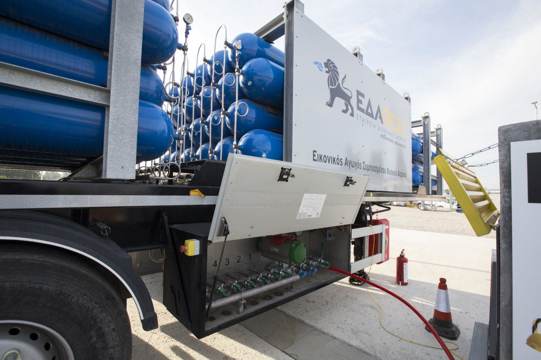 Στο Λαγκαδά το πρώτο δίκτυο φυσικού αερίου με CNG στην Ελλάδα ... 58e16d1fde0
