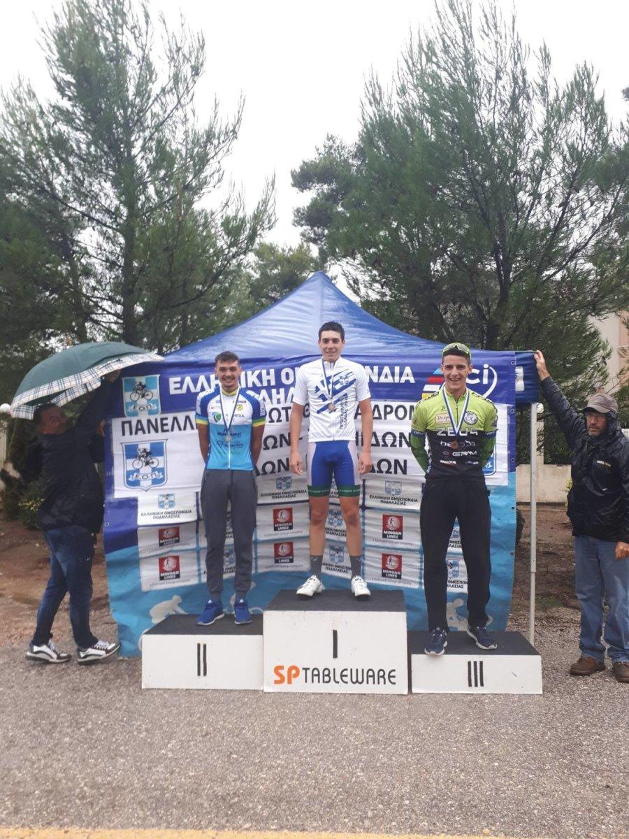 Επιτυχίες των αθλητών του Ποδηλατικού ΓΣ Λάρισας
