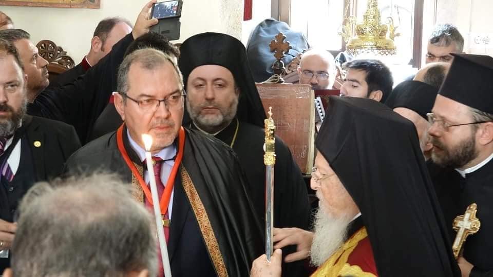 Άρχων Οφφικιάλιος του Οικουμ. Πατριαρχείου ο Δρ Κ. Ζορμπάς