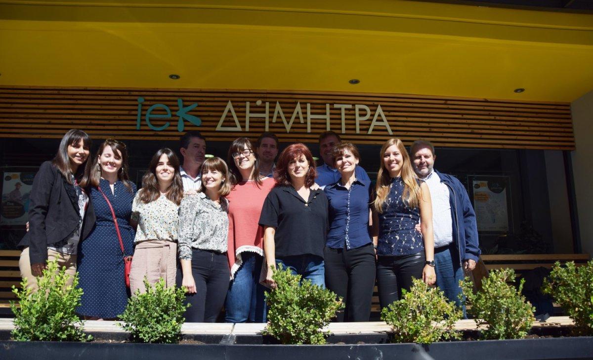 Συνάντηση στη «Δήμητρα» για ευρωπαϊκό πρόγραμμα