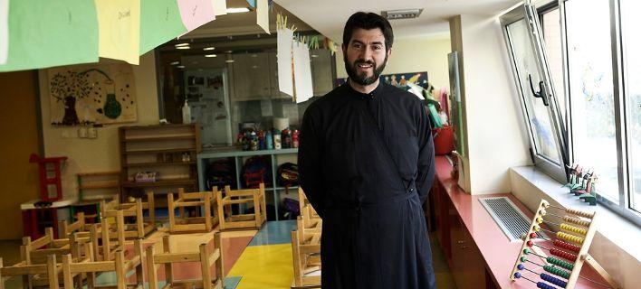 O πατέρας Αντώνιος κέρδισε το βραβείο του Καλύτερου Ευρωπαίου Πολίτη