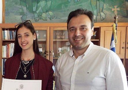 Θερμότατα συγχαρητήρια Παπαστεργίου για την άξια Ολυμπιονίκη στο τάε κβο ντο