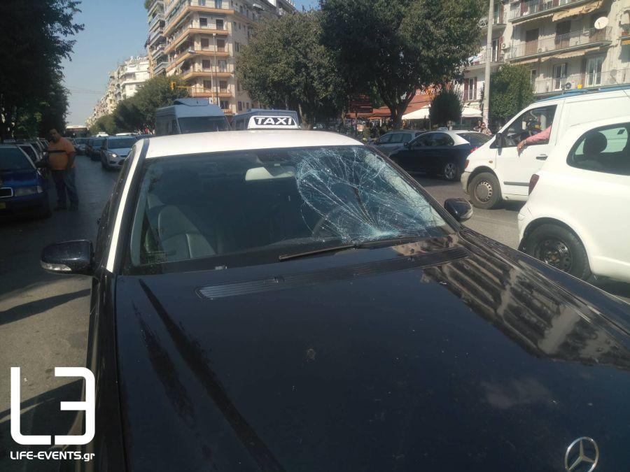 Θεσσαλονίκη: Σοβαρό τροχαίο στην Καμάρα