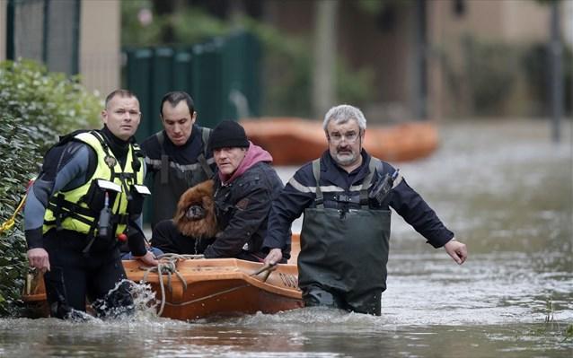 Γαλλία: Δύο νεκροί από τις πλημμύρες