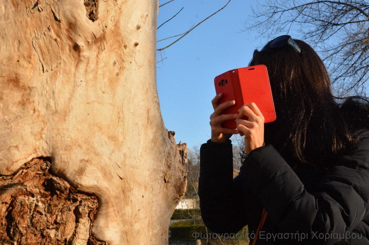 Μαθήματα στο φωτογραφικό εργαστήρι του «Χορίαμβου»