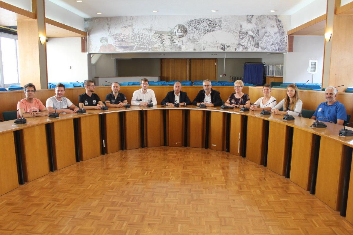 Επίσκεψη Γερμανών αθλητών στην Περιφέρεια Θεσσαλίας