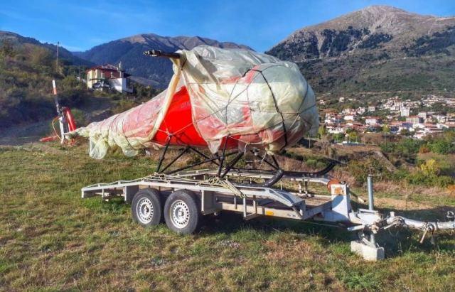 Στο Καρπενήσι βρήκαν το κλεμμένο ελικόπτερο