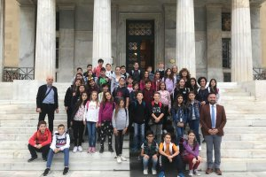 Στη Βουλή μαθητές του 17ου Δημοτικού Σχολείου