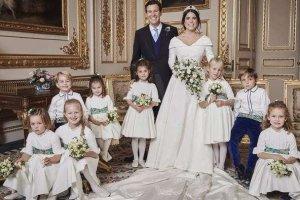 Αυτές είναι οι πρώτες επίσημες φωτογραφίες από τον γάμο της πριγκίπισσας Ευγενίας (φωτ.)